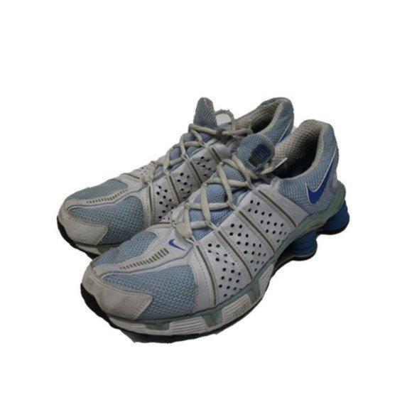 Nike COG Shox Blue & White Running Shoes Sneakers